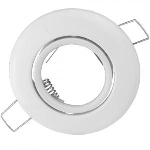 ORKIDE Weiss GU5.3 Einbaustrahler Einbaurahmen