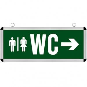 ROBSON WC Notausgangsleuchte - nach rechts