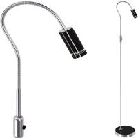 3W Schwarz LED Stehlampe Stehleuchte - ARAS