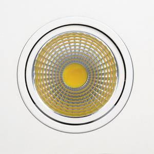 10W 2700K Weiss COB LED Einbauspot Einbaustrahler -...