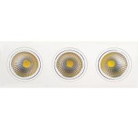 3x10W 2700K Weiss COB LED Einbauspot Einbaustrahler - VERONICA-30