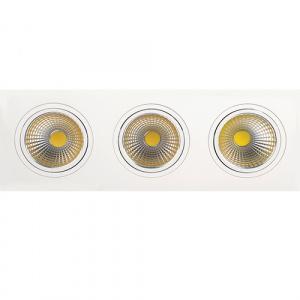3x10W 6400K Weiss COB LED Einbauspot Einbaustrahler - VERONICA-30