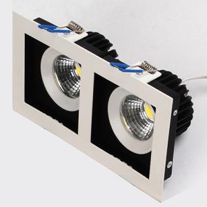2x8W Weiss 2700K COB LED Einbauspot Einbaustrahler -...