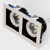 2x8W Weiss 2700K COB LED Einbauspot Einbaustrahler - SABRINA-16