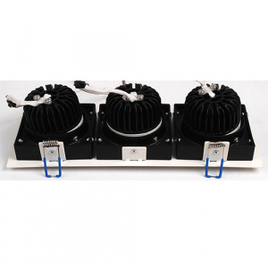 3x8W Weiss 6400K COB LED Einbauspot Einbaustrahler -...