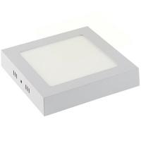 ARINA-12 LED Aufputz Panel Deckenpanel Eckig 12W, kaltweiss 6000K