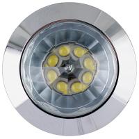 1W Mattchrom 4200K LED Einbaustrahler EInbauleuchte - NADIA