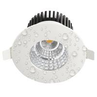 Feuchtraum LED Einbaustrahler 6W 4200K Naturweiss IP65- GABRIEL