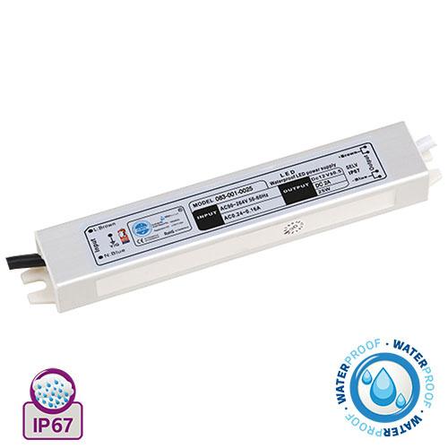 25W 2A Feuchtraum LED Trafo Transformator - VESTA-25
