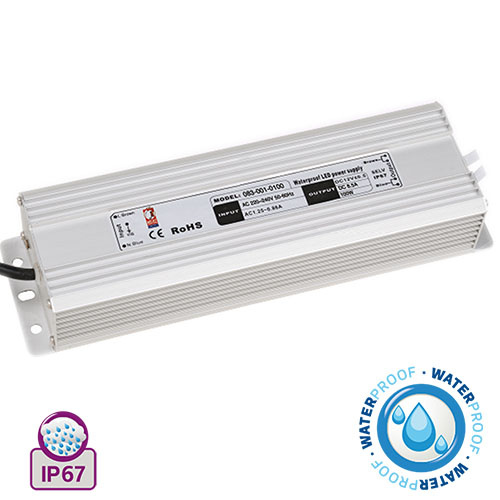 100W 8.5A Feuchtraum LED Trafo Transformator - VESTA-100