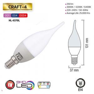 4W 4200K E14 LED Leuchtmittel - CRAFT-4