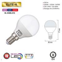 4W 6400K E14 LED Leuchtmittel - ELITE-4