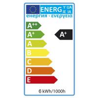 6W 6400K E27 LED Leuchtmittel - ELITE-6