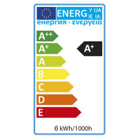 6W 4200K E27 LED Leuchtmittel - ELITE-6