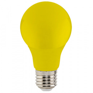3W Gelb E27 LED Farbige Leuchtmittel - SPECTRA