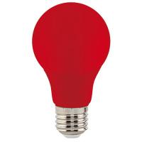 3W Rot E27 LED Farbige Leuchtmittel - SPECTRA