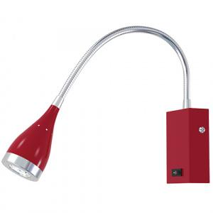 3W Rot 3000K LED Bilder Spiegel Lampe Leuchte - SAKA