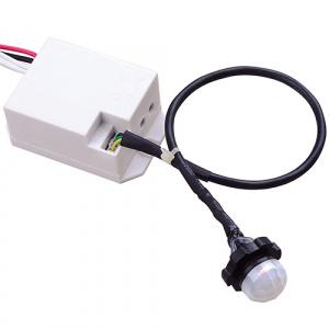 Weiss Mini Bewegungsmelder Sensor Unterputz 360°...