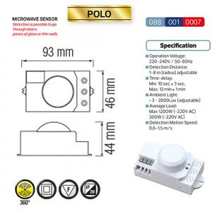 Weiss Microwave Sensor? Max. 1200W - POLO