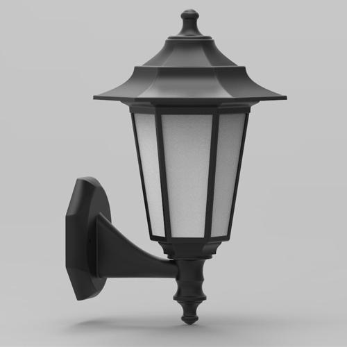 E27 Schwarz Außenlampe Wandleuchte Gartenlampe - BEGONYA-2
