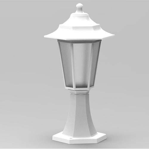 E27 Weiss Außenlampe Wandleuchte Gartenlampe - BEGONYA-1