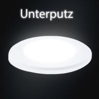 LUNA 3W LED Panel Unterputz Aufputz Deckenleuchte Leuchte 4200K