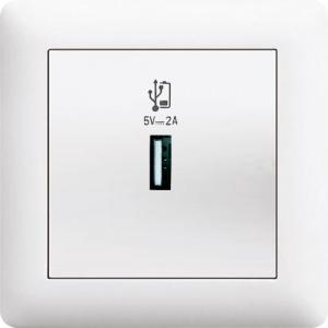 USB DOSE LADEGERÄT ( Einsatz + Deckel ) LUNIS...