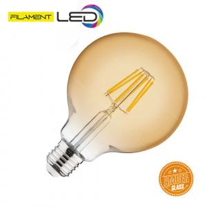 6W 2200K E27 LED Vintage Lampe Filament Leuchte - RUSTIC...