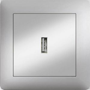 USB SOCKET OUTLET MODULE+COVER