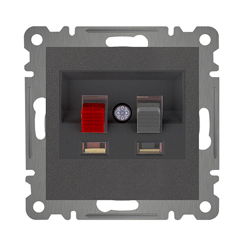 AUDIO SOCKET OUTLET MODULE+COVER
