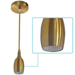 021-008-0001 OLD BRONZE E27 1M PENDANT LAMP
