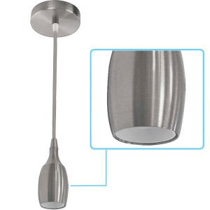 021-008-0001 CHROME E27 1M PENDANT LAMP