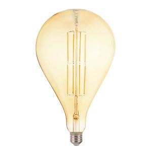 001-049-0008 8W AMBER E27 220-240V LED FLMN